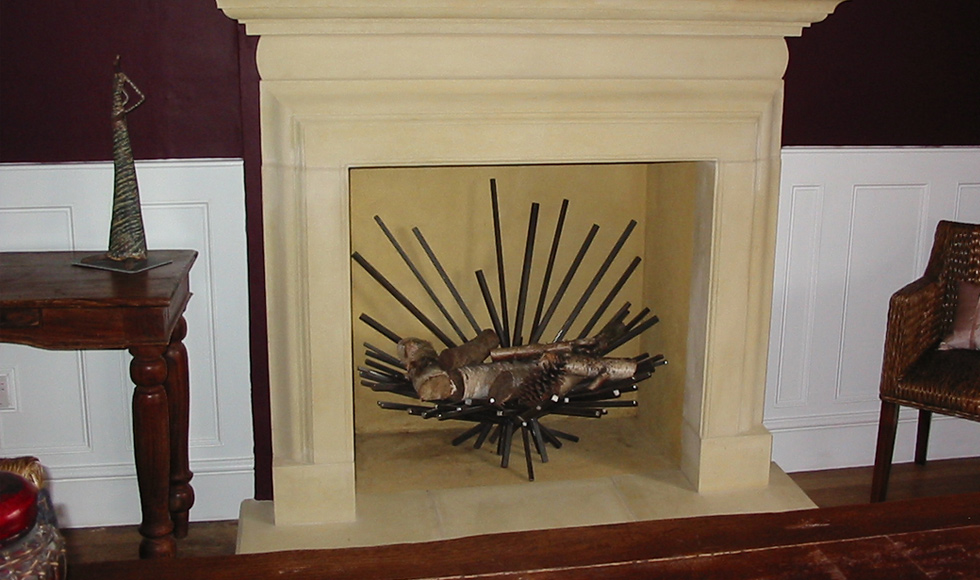 contemporary fire basket